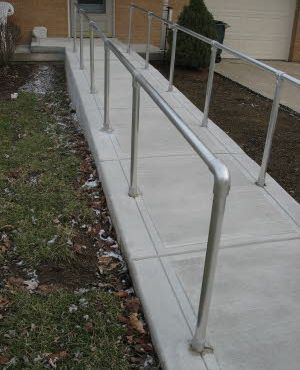 ADA Ramp Safety Rails