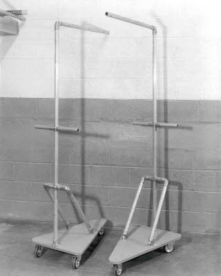 Material Carts with Pipe Fitting Handles