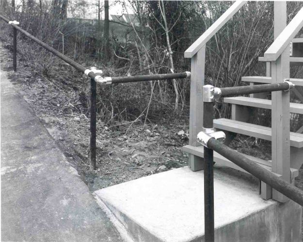 Handrails in Park