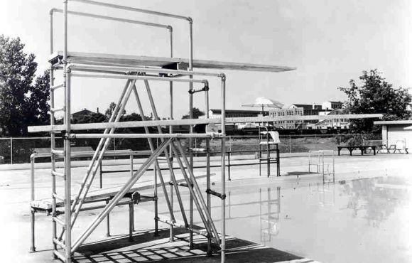 Aluminum Pipe Fitting Diving Board