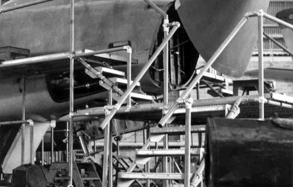 Aircraft Maintenance Scaffolding