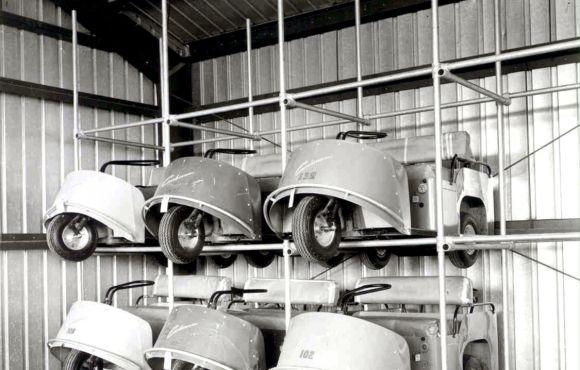 Golf Cart Storage Rack